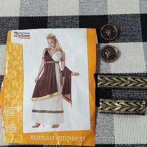 """Roman Empress"" adult Halloween costume 🎃"